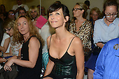 Sophie Marceau in the parade Alexander Vauthier of Decorative Arts