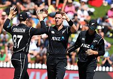 Wellington-Cricket, International, New Zealand v Pakistan, 5th one day