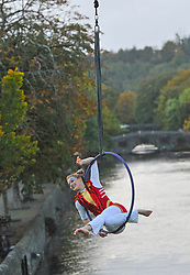Fidget Feet performer during their show at the Westport Arts Festival over the weekend.<br /> Pic Conor McKeown