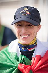 Sara Morganti, (ITA) - Team Competition Grade Ia Para Dressage - Alltech FEI World Equestrian Games™ 2014 - Normandy, France.<br /> © Hippo Foto Team - Jon Stroud <br /> 25/06/14
