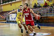 Daniele Cavaliro<br /> Trieste - Sencur<br /> Amichevole precampionato <br /> Legabasket Serie A 2019-20<br /> Parma, 14/09/2019<br /> Foto Ciamillo-Castoria