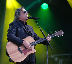 RUNRIG - THE LAST DANCE - FINAL FAREWELL CONCERT, Stirling, Saturday,18th August 2018<br /> <br /> Veteran Scottish rockers Runrig played their farewell concert tonight to mark their retirement after 45 years in the music business.<br /> <br /> The current line-up features Rory Macdonald (Bass), Calum Macdonald (Percussion), Iain Bayne (Drums), Malcolm Jones (Guitar), Brian Hurren (Keyboard) and Bruce Guthro (Lead Singer)<br /> <br /> They were supported by former member Donnie Munro and Julie Fowlis<br /> <br /> Pictured:  Runrig<br /> <br /> <br /> (c) Alex Todd   Edinburgh Elite media