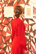 Queen Letizia of Spain attended the opening of ARCO 2018 (2018 Contemporary Art Fair) on February 22, 2018 in Madrid, Spain