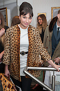 GIZZI ERSKINE, Maison Triumph launch to celebrate the beginning of London fashion week. Monmouth St. 14 February 2013.