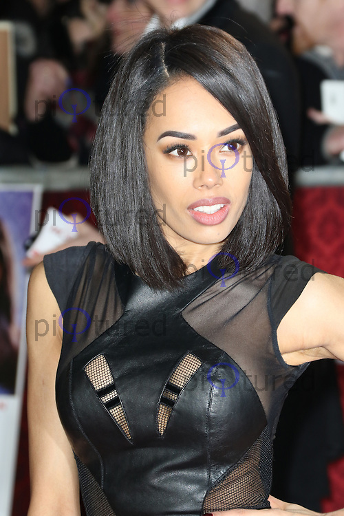 Jade Ewen, Mortdecai - UK film premiere, Leicester Square, London UK, 19 January 2015, Photo by Richard Goldschmidt