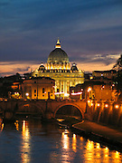 The St. Peters Dome in Vatican, Rome
