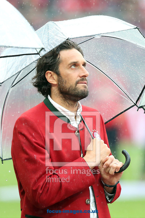 Luca Toni ex of Bayern Munich during the Bundesliga match at Allianz Arena, Munich<br /> Picture by EXPA Pictures/Focus Images Ltd 07814482222<br /> 14/05/2016<br /> ***UK &amp; IRELAND ONLY***<br /> EXPA-EIB-160515-0132.jpg