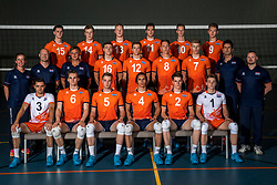 08-06-2018 NED: Photoshoot selection of Orange Young Boys, Arnhem <br /> Orange Young Boys 2018 - 2019 / Teamphoto