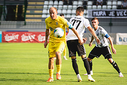 Senijad Ibričić of Domzale during football match between NŠ Mura and NK Domžale in 30th Round of Prva liga Telekom Slovenije 2019/20, on June 28, 2020 in Fazanerija, Murska Sobota, Slovenia. Photo by Blaž Weindorfer / Sportida