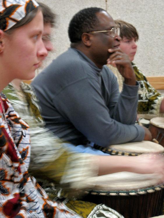 Students St.Clairsville High School, Ohio. Grades 7-12..Paschal Yao Younge, Professor of Music at Ohio University..Erin Drury, Instrumental Teacher at St.Clairsville  School District
