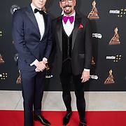 NLD/Amsterdam/20200122 - Musical Award Gala 2020, Maik de Boer en .......