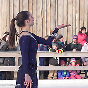 Alissa Czisny performs with Ice Dance International at Strawbery Banke, Portsmouth NH on Jan 14, 2017