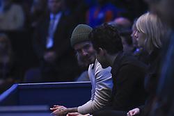 November 19, 2017 - London, England, United Kingdom - David Beckham is seen watching the Mens final between David Goffin and Grigor Dimitrov at O2 Arena on November 19, 2017 in London, England. (Credit Image: © Alberto Pezzali/NurPhoto via ZUMA Press)