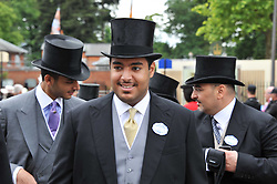 H.H.SHEIKH FAHAD BIN ABDULLAH AL THANI at day 2 of the 2011 Royal Ascot Racing festival at Ascot Racecourse, Ascot, Berkshire on 15th June 2011.