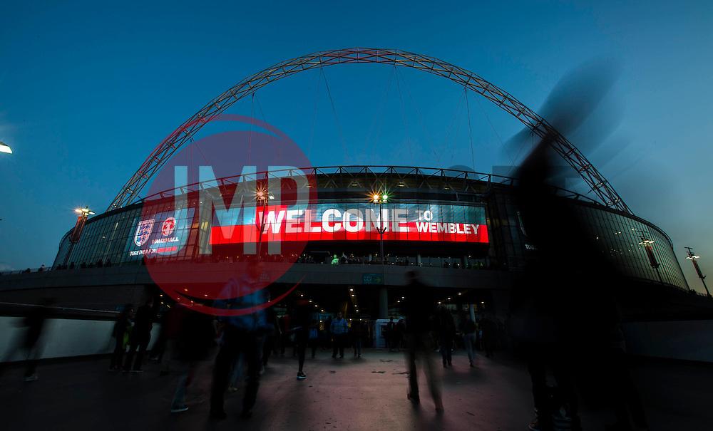 Welcome to Wembley - Mandatory byline: Jason Brown/JMP - 07966 386802 - 09/10/2015- FOOTBALL - Wembley Stadium - London, England - England v Estonia - Euro 2016 Qualifying - Group E