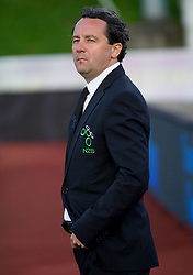 Slavisa Stojanovic, head coach of Slovenia during friendly football match between national teams of Slovenia and Greece, on May 26, 2012 in Kufstein, Austria.   (Photo by Vid Ponikvar / Sportida.com)