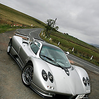 Rio Prestige, based in Livingston hire out supercars, from Ferraris to Bentleys, Porsches to exotic hypercars such as Pagani and Koenigsegg..Pagani Zonda C12s.