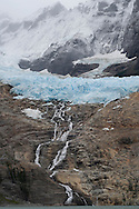 Balmaceda glacier and Seno Ultima Esperanza, Bernardo O'Higgins National Park, Patagonia, Chile