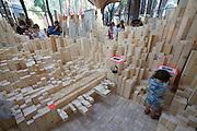 "13th Biennale of Architecture..Giardini..Canadian Pavillion..""MIGRATING LANDSCAPES""."