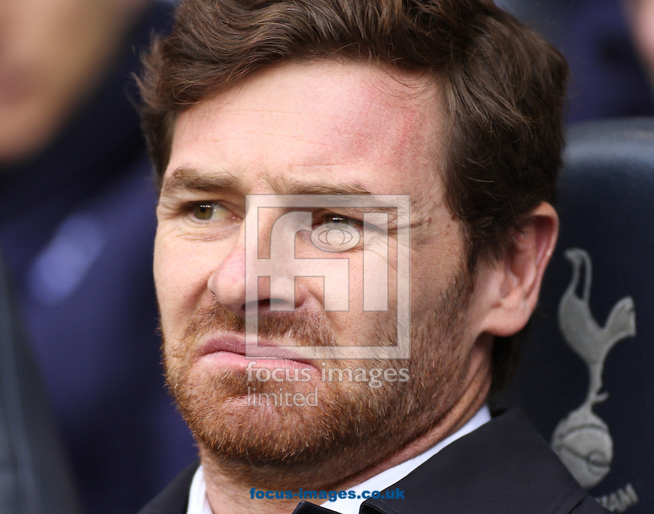 Picture by David Horn/Focus Images Ltd +44 7545 970036.09/02/2013.Andre Villas Boas Manager of Tottenham Hotspur before the Barclays Premier League match at White Hart Lane, London.