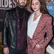 NLD/Amsterdam/20180226 - Premiere De wilde stad, Bente Fokkens en partner