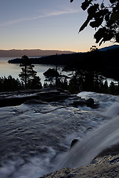 """""""Emerald Bay Sunrise 5"""" - This sunrise was photographed from Eagle Falls above Emerald Bay, Lake Tahoe."""
