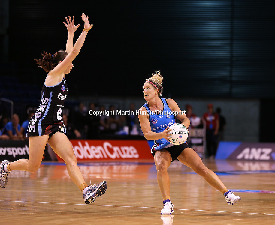 Phillipa Finch of Southern Steel during the ANZ Netball Championship, Easiyo Tactix v Southern Steel at CBS Arena, Christchurch, New Zealand. Saturday 30th March 2013. Photo: Martin Hunter/ Photosport.co.nz