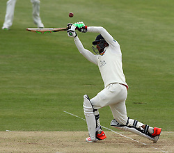 Durham's Usman Arshad - Photo mandatory by-line: Robbie Stephenson/JMP - Mobile: 07966 386802 - 04/05/2015 - SPORT - Football - London - Lords  - Middlesex CCC v Durham CCC - County Championship Division One