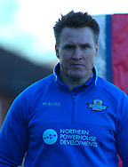 Richard Marshall (Coach) of Halifax RLFC during the Pre-season Friendly match at Belle Vue, Wakefield<br /> Picture by Stephen Gaunt/Focus Images Ltd +447904 833202<br /> 07/01/2018