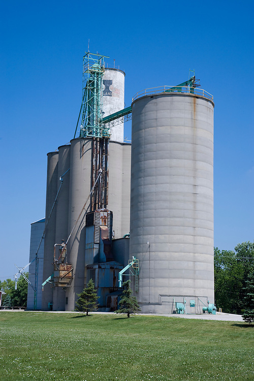 Grain Silo Genoa, Ohio