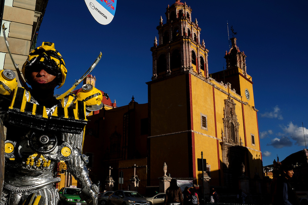 Cervantino Celebration. City of Guanajuato, Mexico.