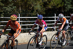 Megan Guarnier (Boels Dolmans) at Giro Rosa 2016 - Stage 6. A 118.6 km road race from Andora to Alassio, Italy on July 7th 2016.