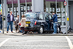 RTA involving taxi, Edinburgh, 20 August 2019