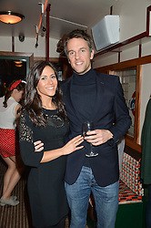 DUNCAN & ZOE STIRLING at a party to celebrate the opening of Cahoots - a new nightclub from the Inception Group at 13 Kingly Court, Soho, London on 26th February 2015.