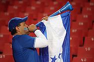 21 JUN 2010: Honduras fan. The Spain National Team defeated the Honduras National Team 2-0 at Ellis Park Stadium in Johannesburg, South Africa in a 2010 FIFA World Cup Group H match.