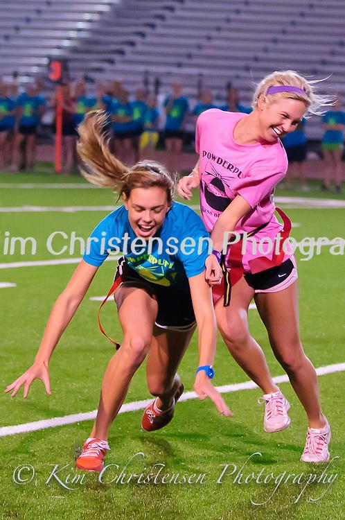 Friendswood High School Powder Puff Football game 2011.