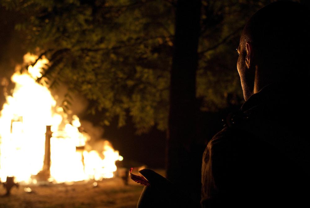 The burning of the Effigy