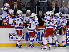 February 1, 2008: New York Rangers vs New  Jersey Devils