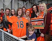 The girls are United - Dundee United open day at Tannadice<br /> <br />  - Pictures © David Young