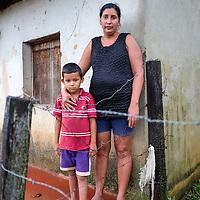 Community La Limonera, Jalapa, Nueva Segovia - Nicaragua 10-2014<br /> Photography by Aaron Sosa<br /> <br /> Portraits of Mrs. Guadalupe García <br /> Association of Women against Violence of Jalapa Oyanka.