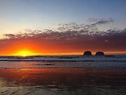 Another beautiful sunset at Twin Rocks / Rockaway beach, Oregon