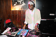 DJ Blackocaine at The Vibe Magazine Presents Vsessions Live! Hosted by the Fabulous Toccara featuring Hal Linton, Suai and Ron Browz held at Joe's Pub on February 25, 2009 in NYC