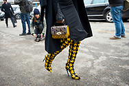 Black and Yellow, Outside Cavalli FW2018