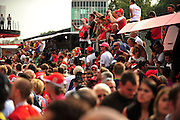 September 10-12, 2010: Italian Grand Prix. Ferrari fans