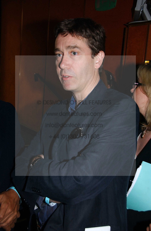 LORD CHOLMONDELEY at a private screening of 'Sketches of Frank Gehry in association with jewellers Tiffany held at the Curzon Cinema, Mayfair on 10th May 2006 followed by a party at Nobu Mayfair, Berkeley Street.<br />