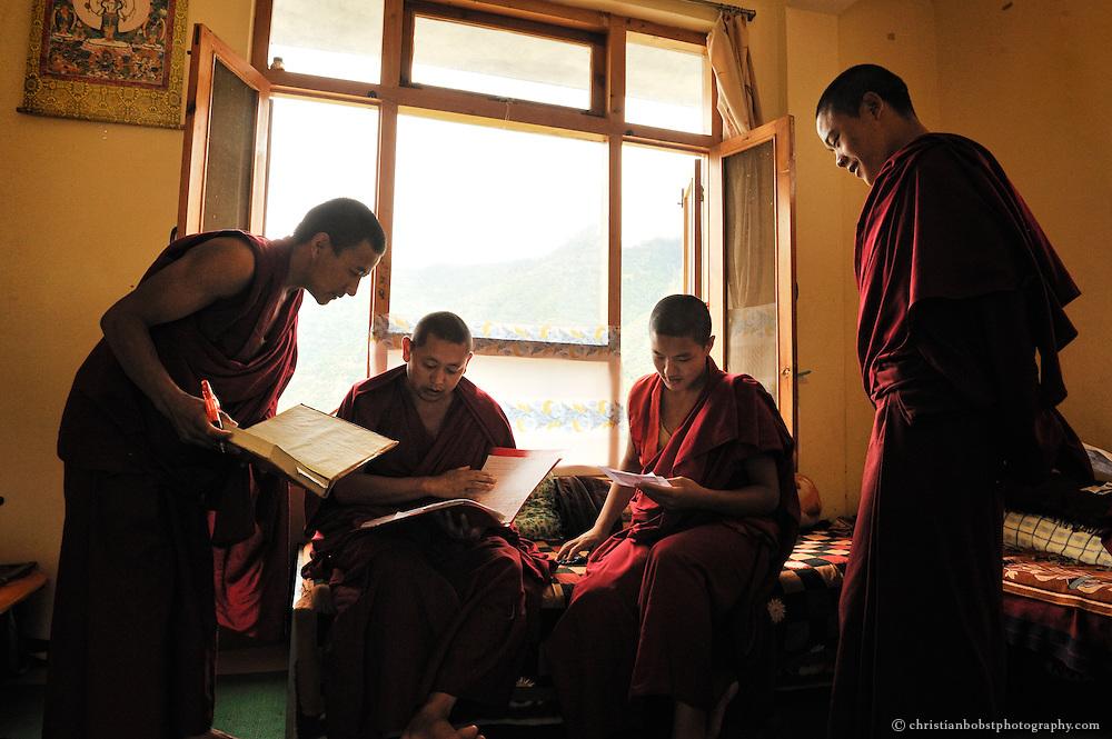 Dagpo Shedrub Ling Monastery, India