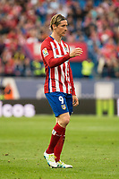 Atletico de Madrid's Fernando Torres during La Liga Match at Vicente Calderon Stadium in Madrid. May 14, 2016. (ALTERPHOTOS/BorjaB.Hojas)