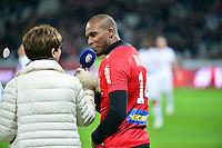 Eric ABIDAL  - 24.01.2015 - Lille / Monaco - 22eme journee de Ligue1<br />Photo : Dave Winter / Icon Sport