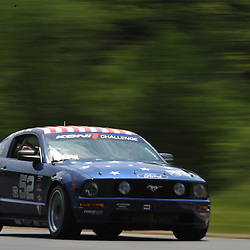 May 23, 2009; Lakeville, CT, USA; The Rehagen Racing Ford Mustang GT driven by Ray Mason and Bryan Ortiz qualifies for the Grand-Am Koni Sports Car Challenge series competition during the Memorial Day Road Racing Classic weekend at Lime Rock Park.