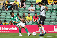 Wes Hoolahan in action during the pre season friendly at Carrow Road Stadium, Norwich...Picture by Paul Chesterton/Focus Images Ltd.  07904 640267.6/8/11